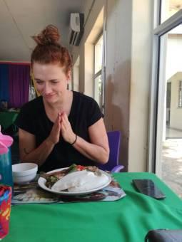 Eating Chambo